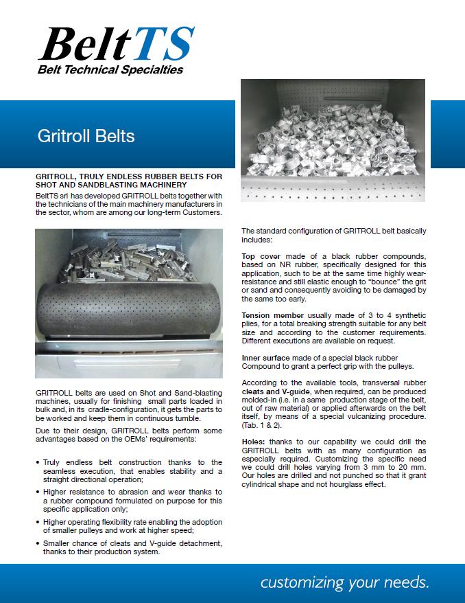BeltTS - Gritroll Belts