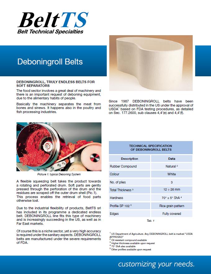 BeltTS - Deboningroll