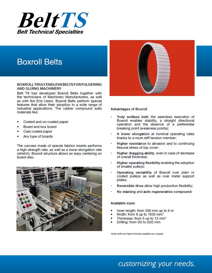 BeltTS - Boxroll Belt