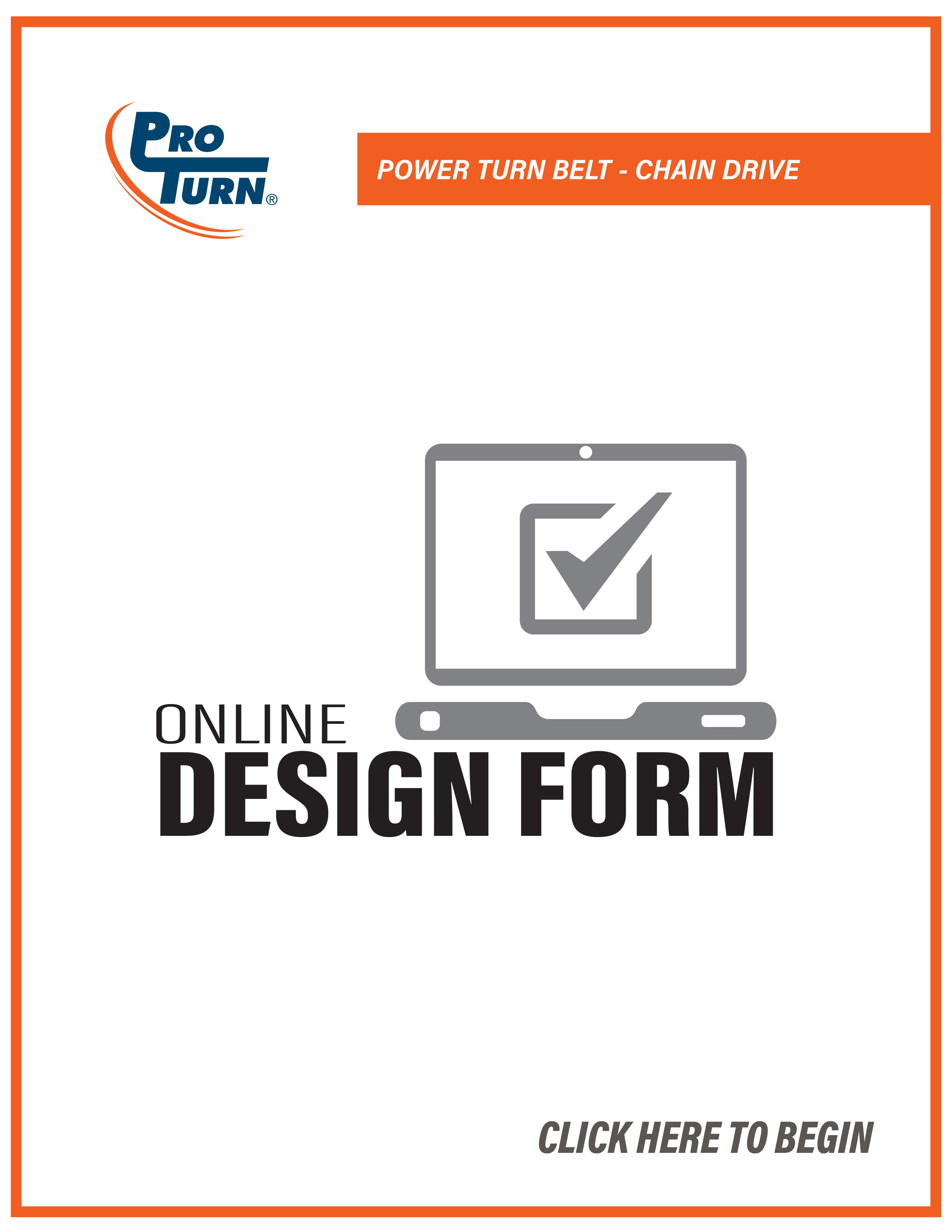 ProTurn - Power Turn Belt - Chain Drive