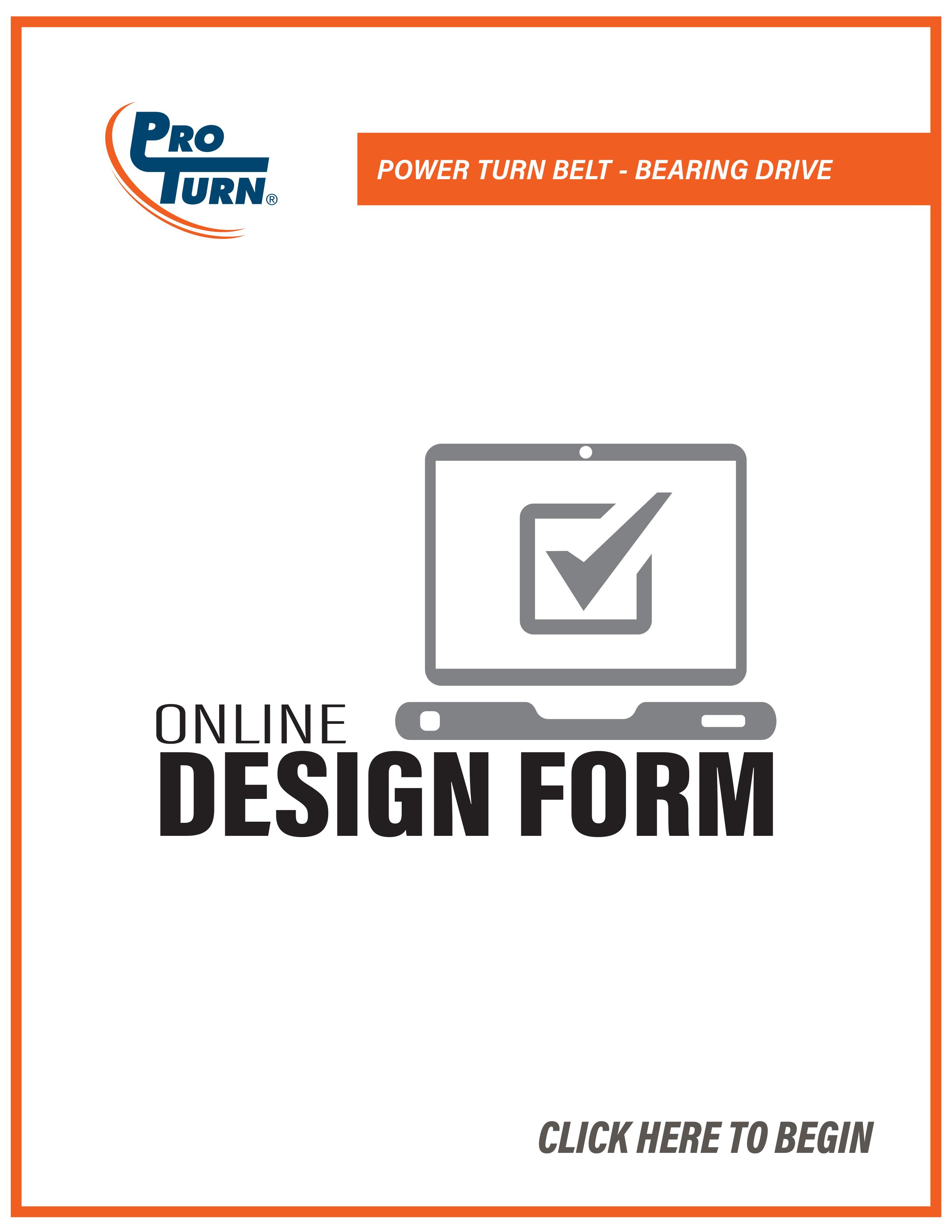 ProTurn - Power Turn Belt - Bearing Drive