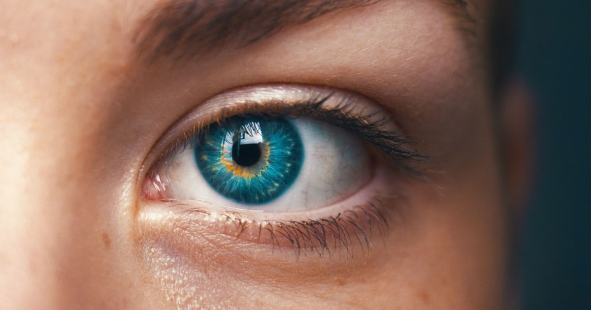 Close-up image of a person's eye