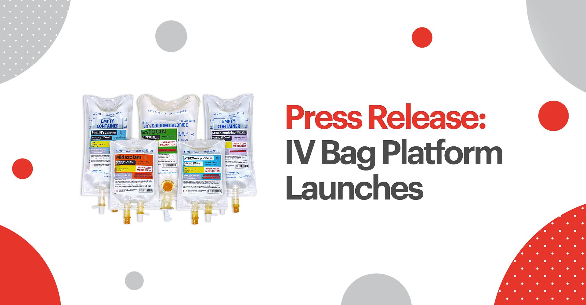 FSS Launches IV Bag Platform