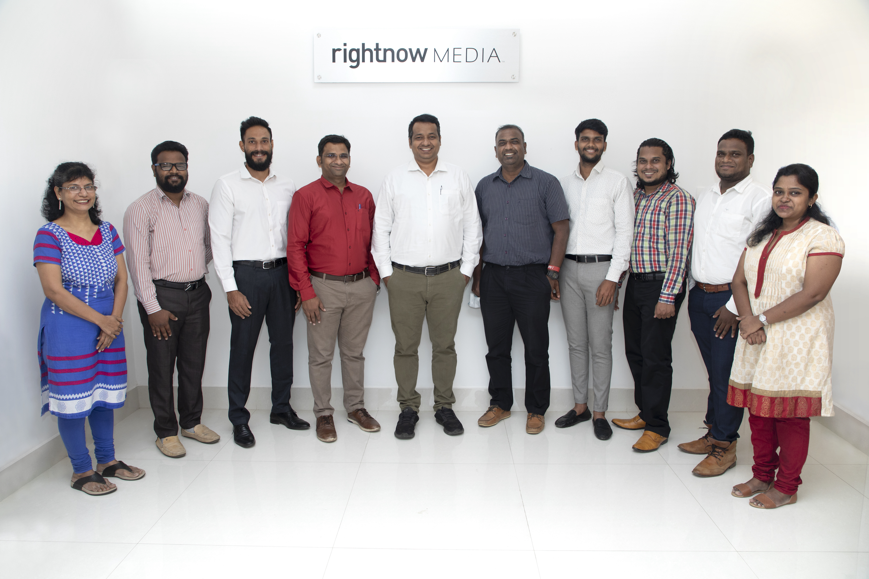 From left to right: (NAME) (NAME) Binny Raj Kumar, Samuel Subbiah, Max Premson, NAME, NAME, NAME, NAME, NAME