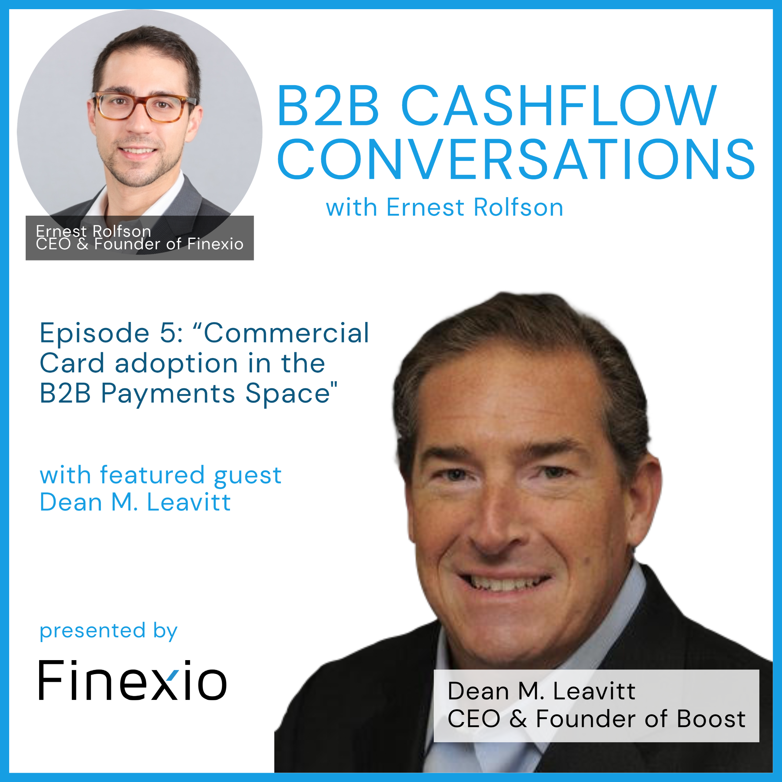 Paying It Forward Episode 1 image:  Episode 1 title is Supporting Innovation in Fintech with Guest Dave Peterson