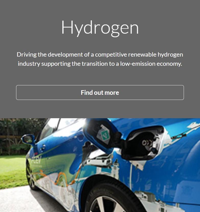 Queensland Priority Industries - Hydrogen