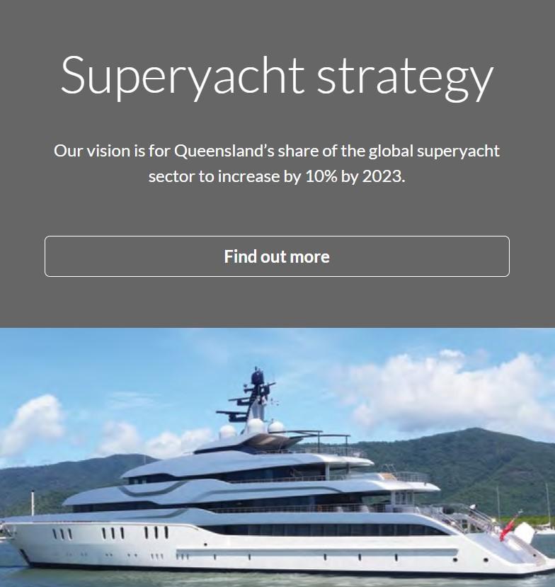 Queensland Priority Industries - Superyacht Strategy