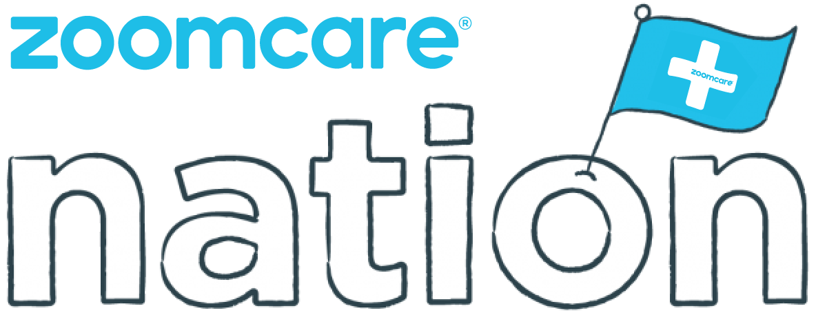 logo for ZOOM+Care Nation blog