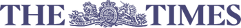 The logo for The times newspaper
