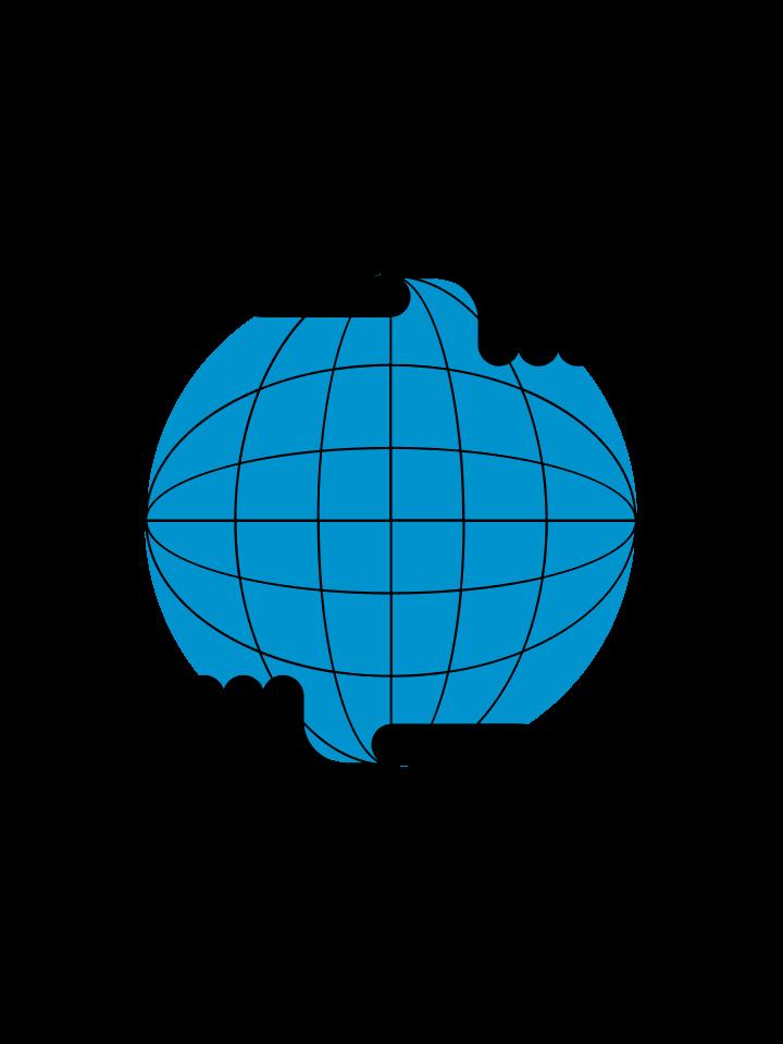 Dropbox Foundation hands holding globe