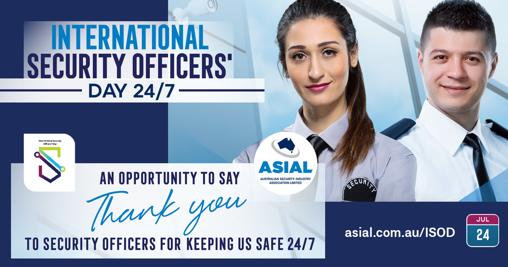 Everyday, security officers put themselves in harm's way to protect the public from danger. International Security Officers' Day is an opportunity to recognise and thank those people who work behind the scenes to keep us safe.
