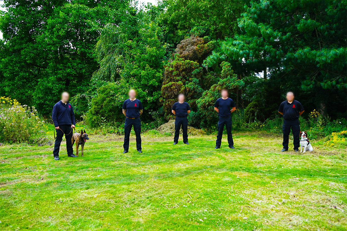 Westminster held their first ADR Dangerous Goods Course with the help of the NTDSG Explosive Detection and Firearm Detection dogs