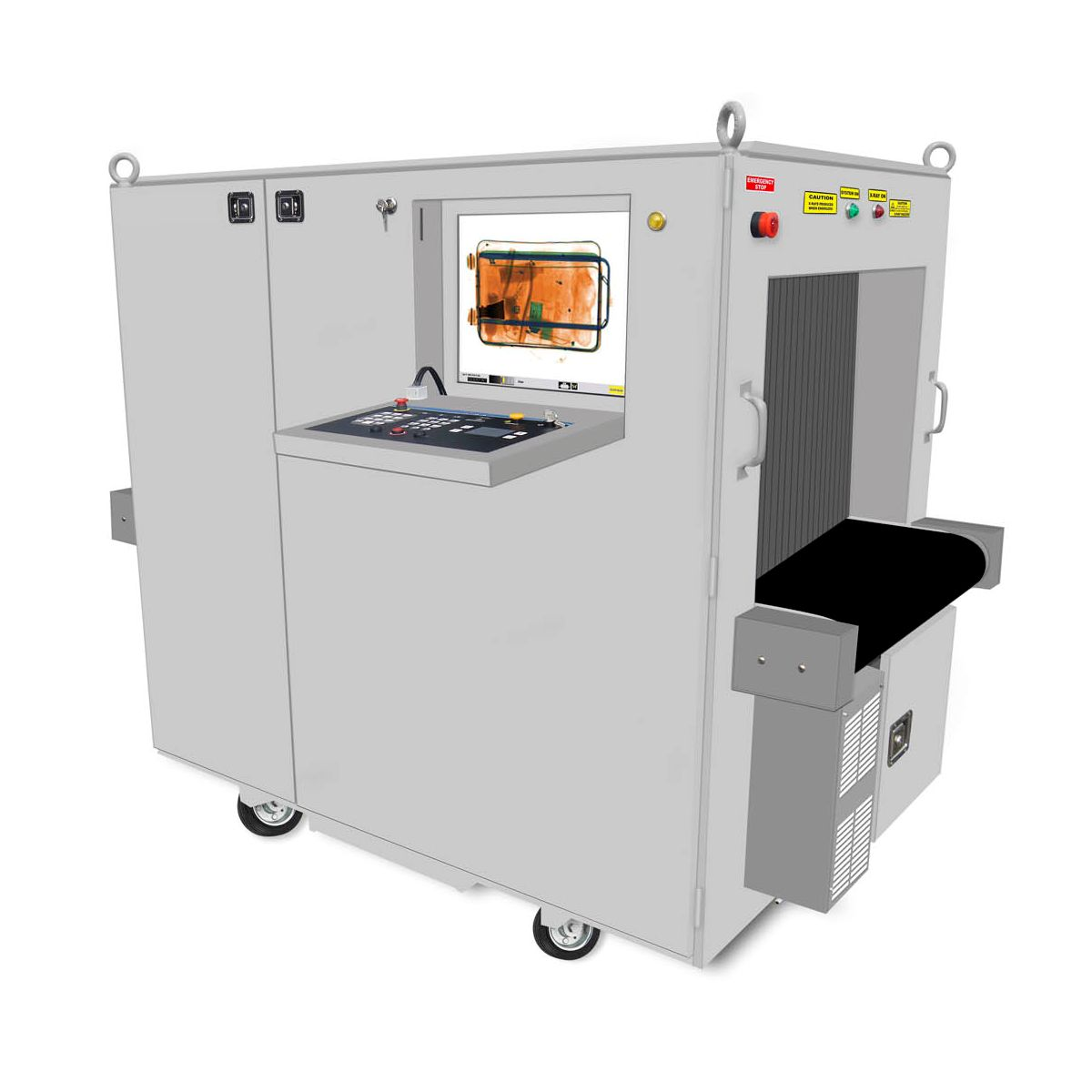 WGIS7555R X-Ray Baggage Scanner