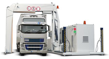 Entire Truck & Cargo X-Ray Scanning System - Relocatable
