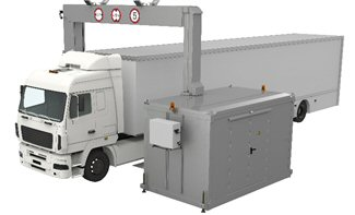 Entire Truck and Cargo X-Ray Scanning Portal