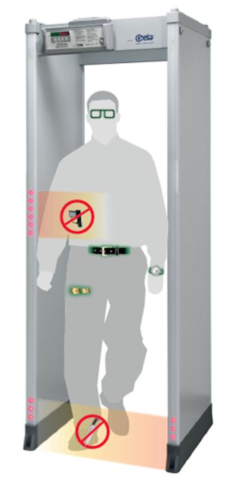HI-PE Plus Walk Through Metal Detector