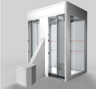 CP Access Controlled Body Scanner