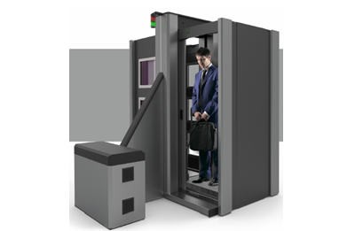 CP Body Scanner X-Ray Shielding Cabin