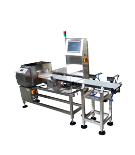 Combined Metal Detector & Checkweigher