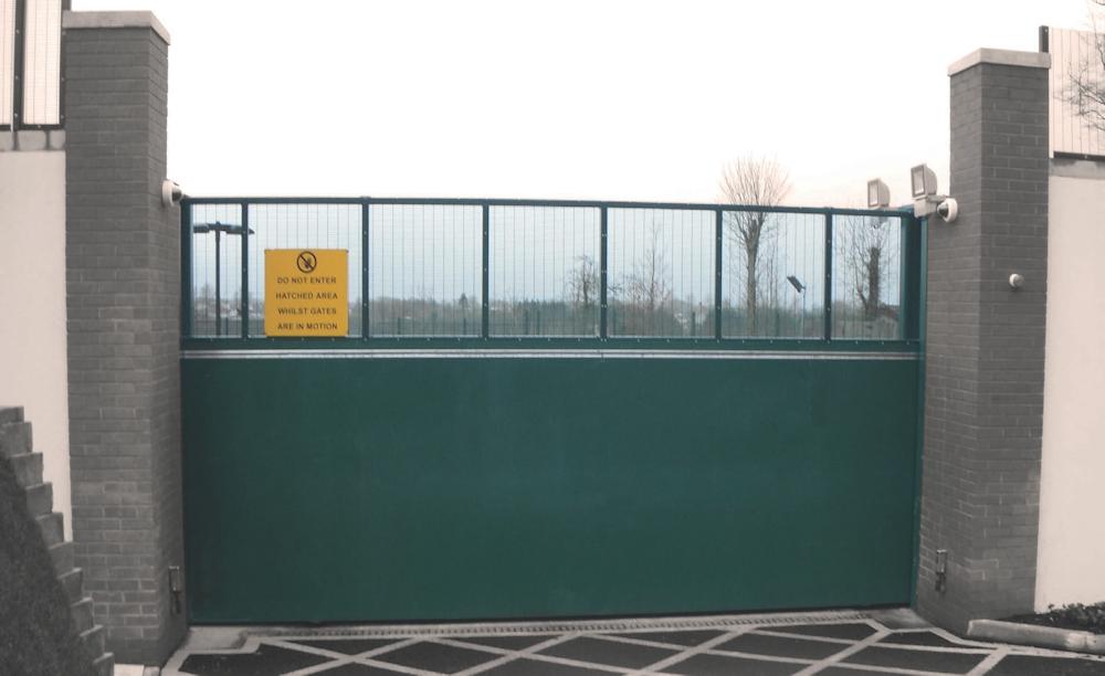 Ballistic Protection Sliding Gate