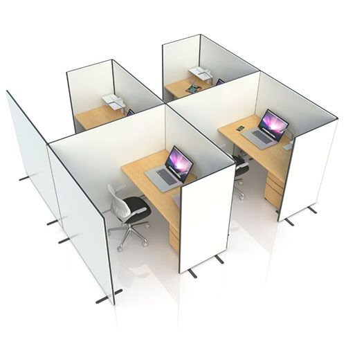 Anti-Bacterial Office Pods & Partition Screens