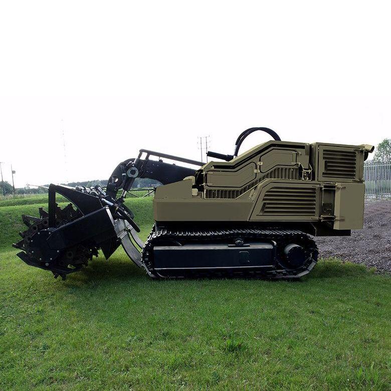 WG 75 Mine Clearance Vehicle