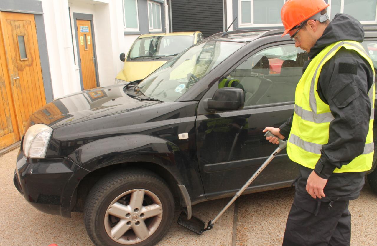 Lightweight Crutch Search Mirror