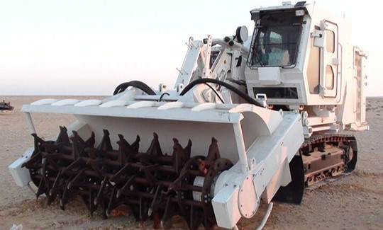 WG 400 Mine Clearance Vehicle