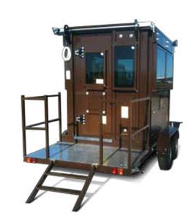 Mobile Sentry Box