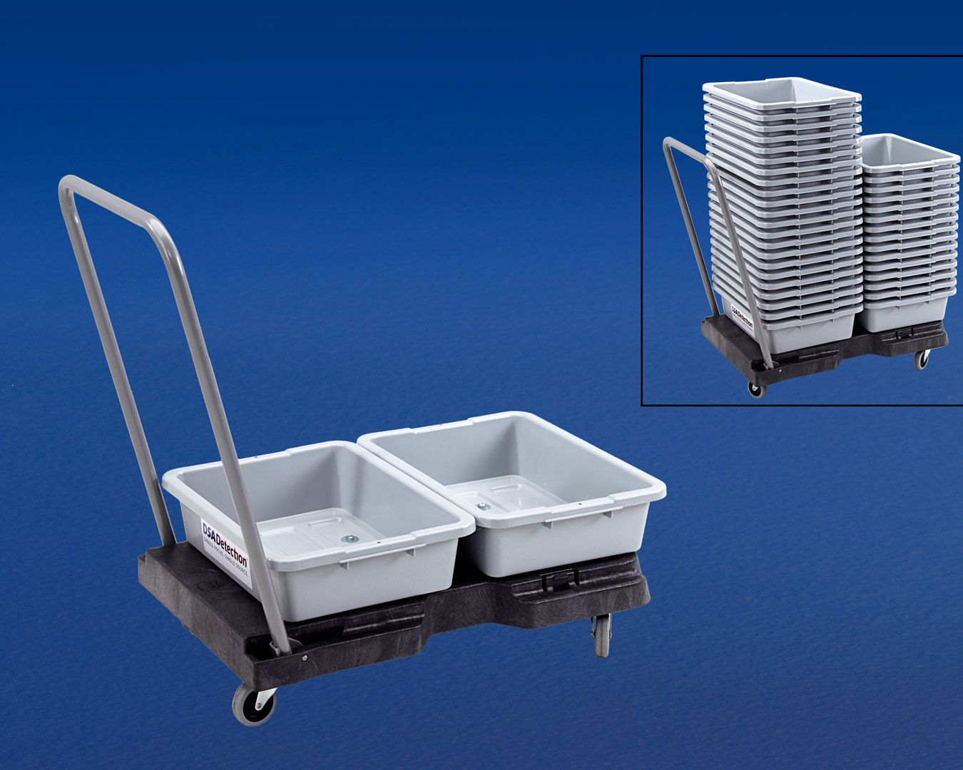 CS Screening Tray Cart