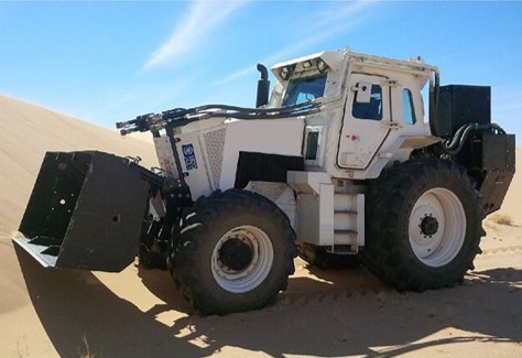 WG 100 Mine Clearance Vehicle