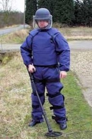 WG 153 Bomb Disposal Suit