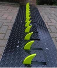 Traffic Flow Plate Spike Barrier