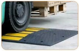 WG Portable Roll Up Speed Bump