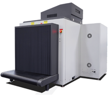 WG IS100XDX Dual View Low Conveyor X-Ray Large Baggage and  Parcel Scanner