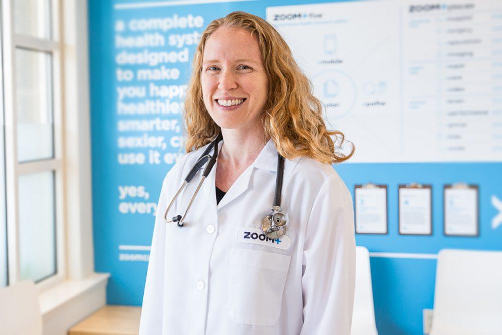 ZOOM+Care women's health doctor
