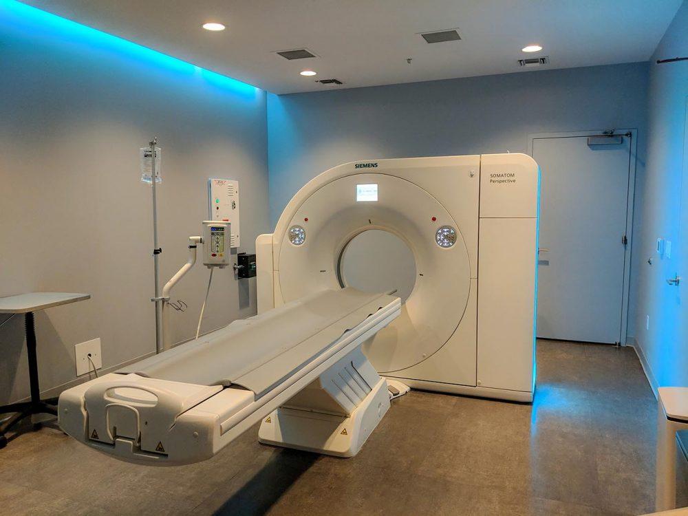 An MRI inside of ZOOM+Care Super
