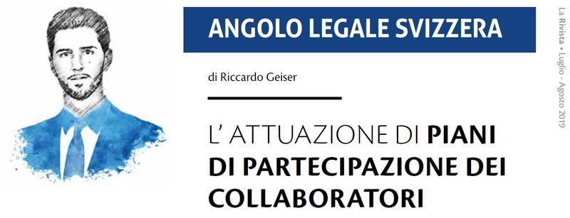 L'attuazione di piani di partecipazione dei collaboratori
