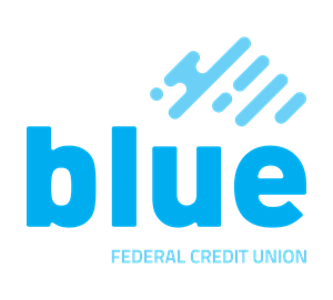 blue federal credit union logo for banking technology case study