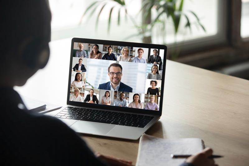 team collaboration video chat application