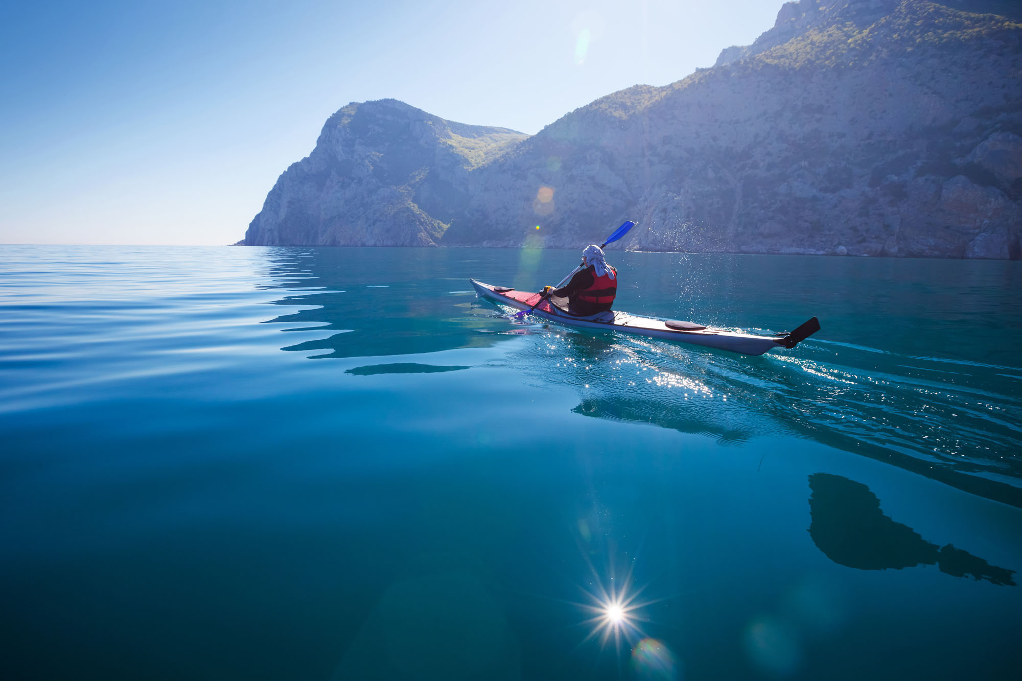 man paddling representing lunavi navigating your digital transformation