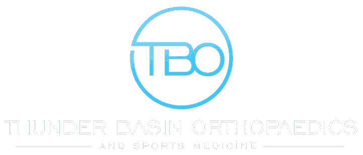 thunder basin orthopedics logo for healthtech case study