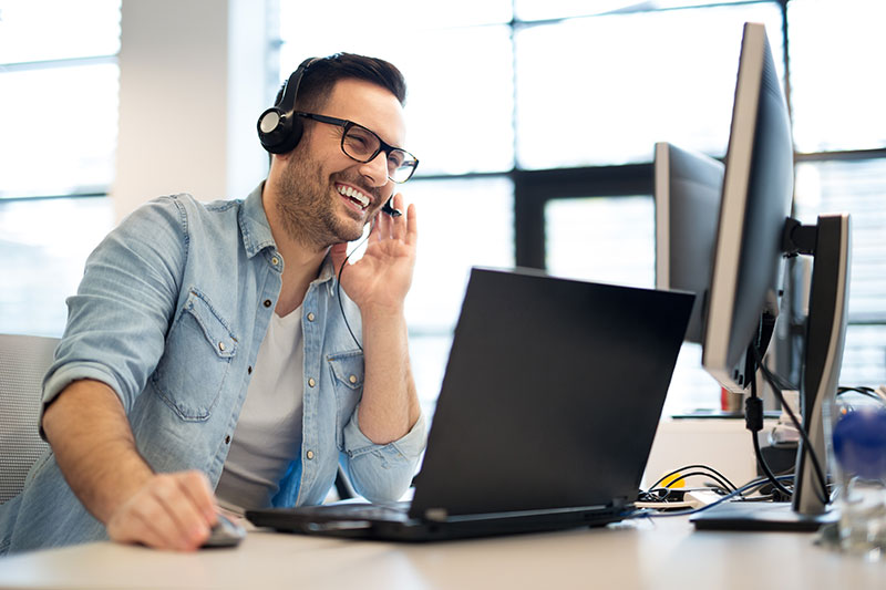 helpful 24/7 tech support included for all Lunavi clients