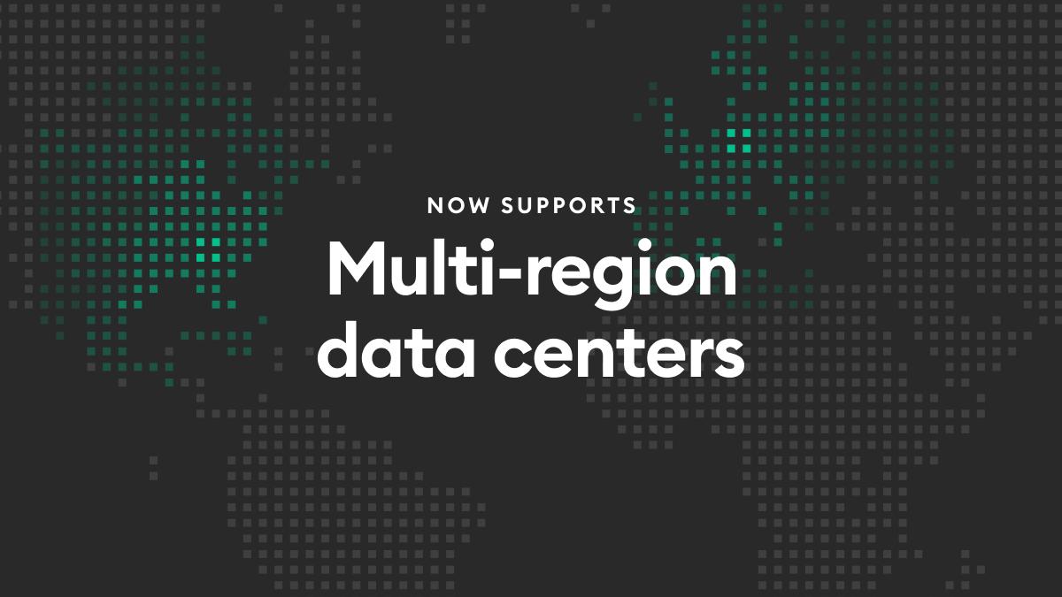 Amity Social Cloud Multi-region data centers
