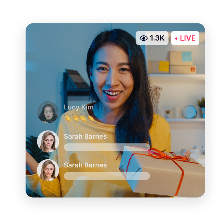 Live Chat for Live Videos