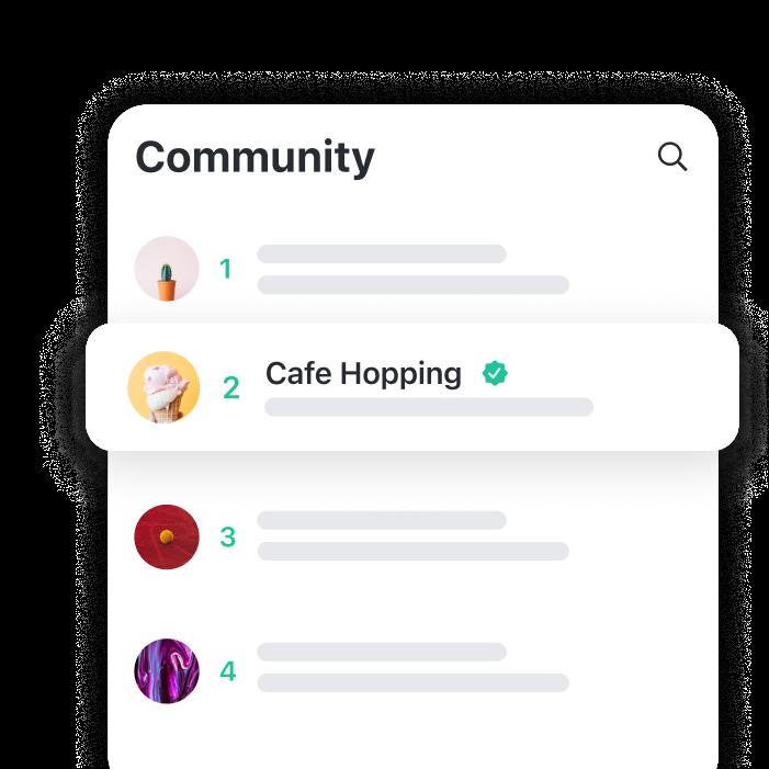Community Groups