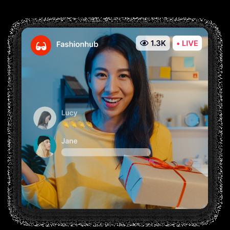 Brand Partner Live Streaming