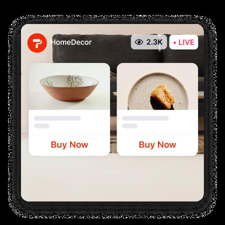 Live Stream Commerce