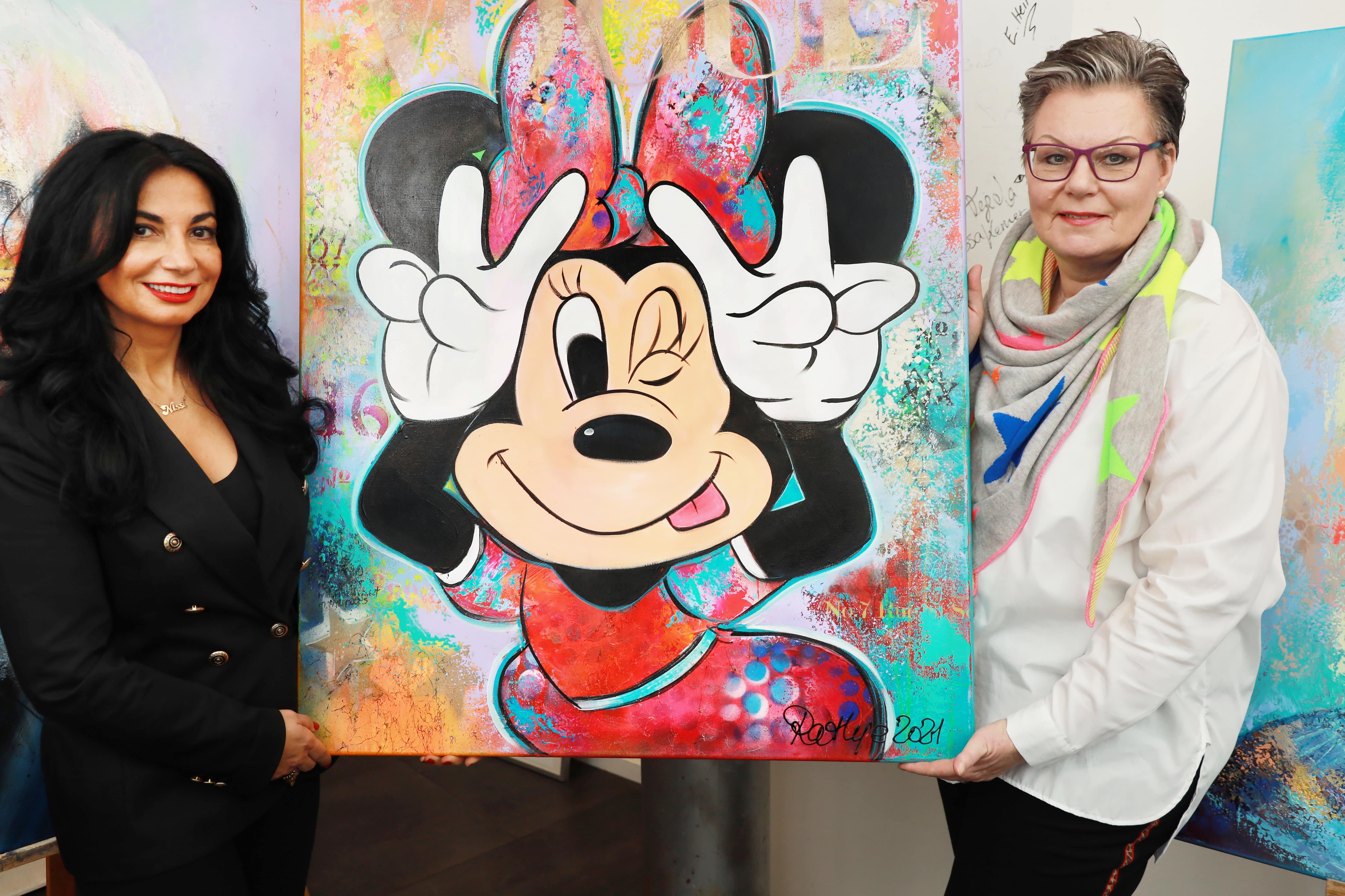 Interview in Hamburg in Nissis Kunstkantine