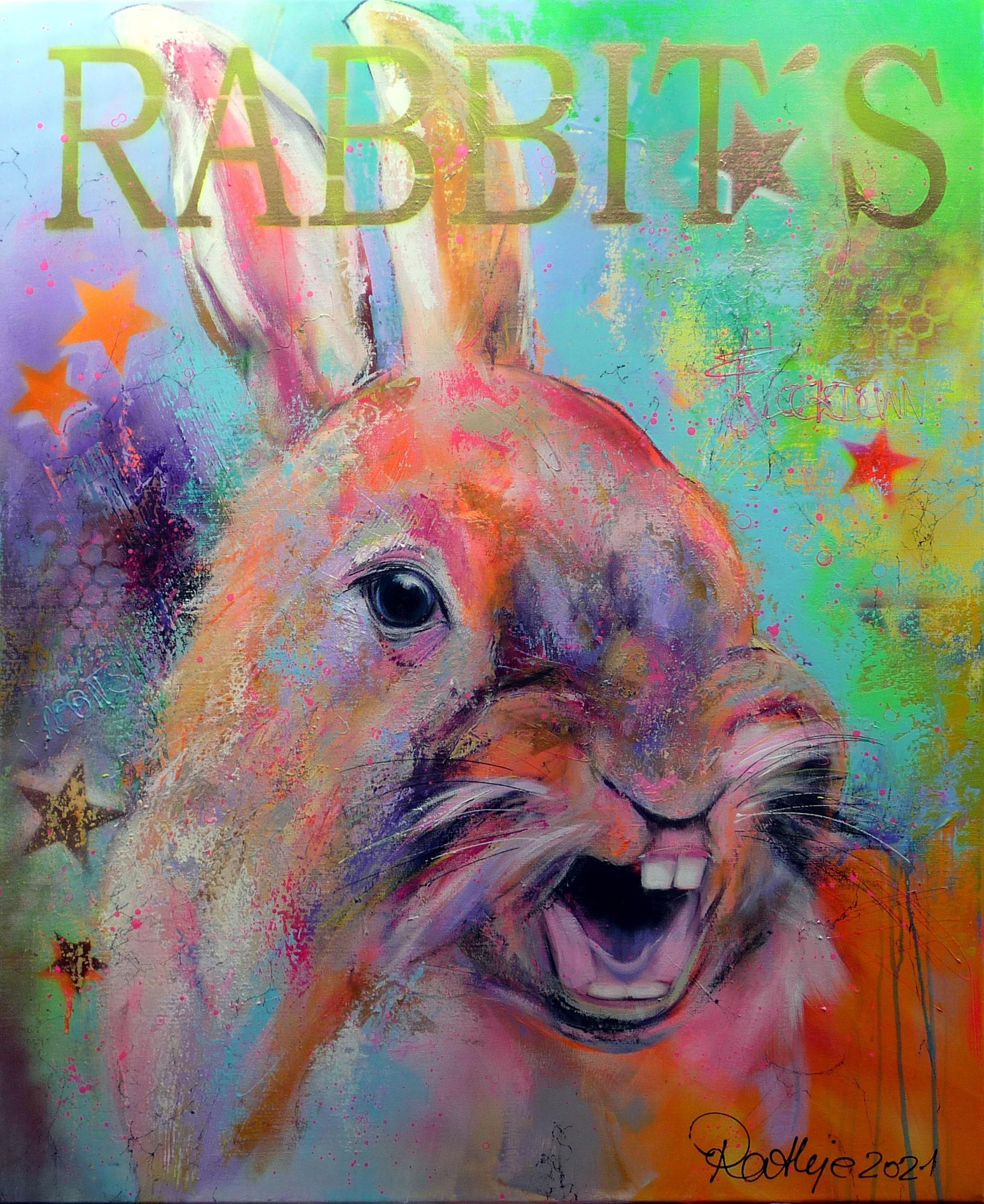 "Motiv: ""lockdown for rabbits"""